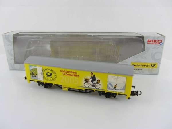 PIKO 72048 Postwagen Jahreswagen 2005 neuwertig mit Verpackung