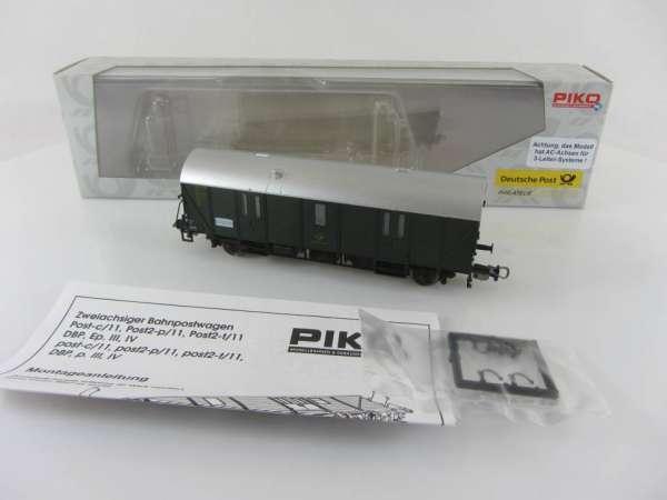 PIKO 5448 2/10 Postwagen Bahnpostwagen neuwertig mit Verpackung, AC-Achsen