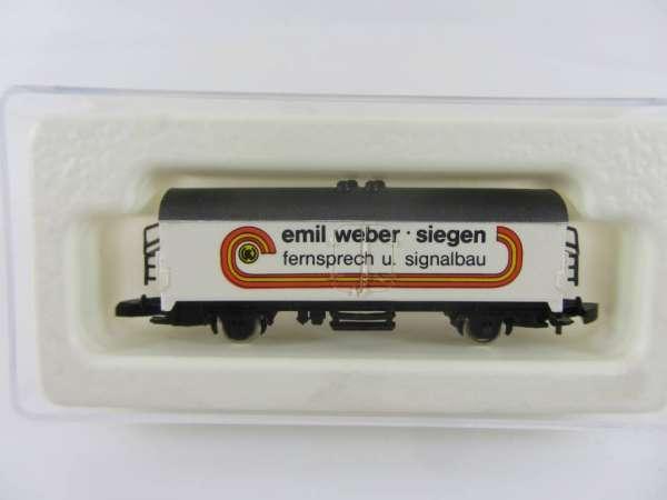 Märklin 8600 Kühlwagen Sondermodell Emil Weber Siegen neuwertig mit Box