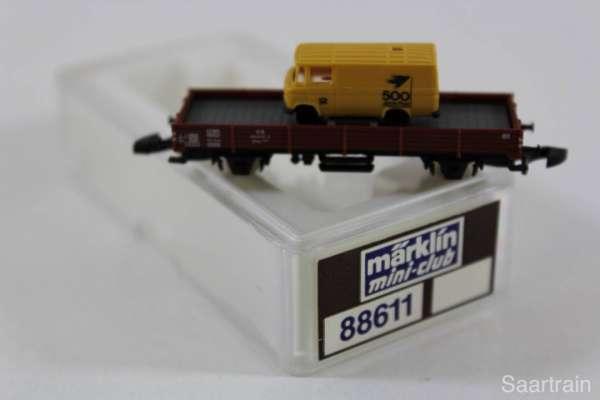 Sondermodell 500 Jahre Post Flachwagen mit LKW (88611) mit Originalverpackung