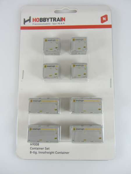 Hobbytrain H9008 Containerset innofreigth,Neu,OVP,M1:160