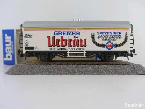 Baur Nr. 159 HO Bierwagen Greizer Urbräu weiß Neu mit Originalverpackung