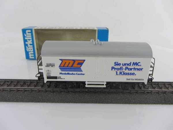 Märklin Basis 4415 Werbewagen MC Fachgeschäft, neuwertig und mit OVP