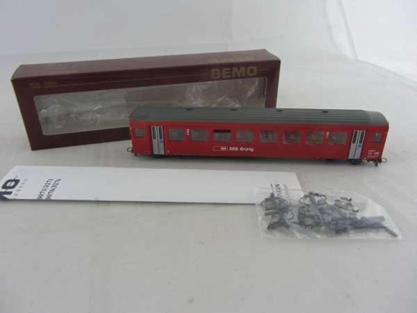 Bemo 3271 439 Personenwagen B 309-5 der SBB rot, 2.Klasse, Neu-Zustand mit OVP
