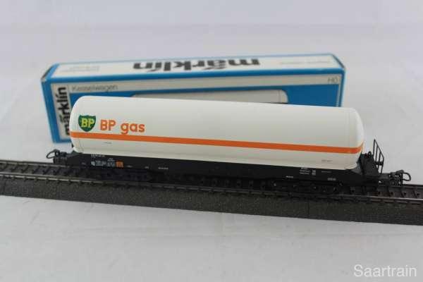 Märklin 4748 Gaskesselwagen BP der DSB Dänemark gebraucht und Originalverp.