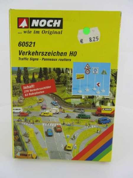 NOCH 60521 Verkehrszeichen HO, neu mit Originalverpackung