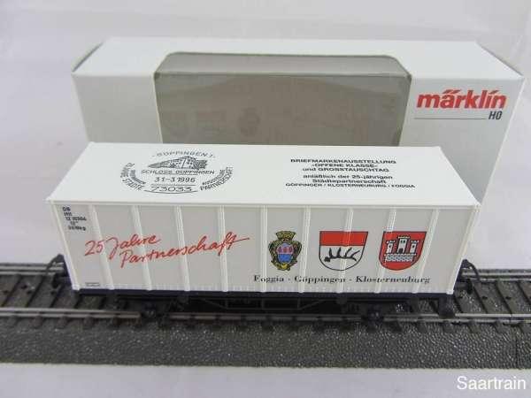 Basis 4481 Containerwagen Göppingen / Klosterneuburg / Foggia Neu mit OVP