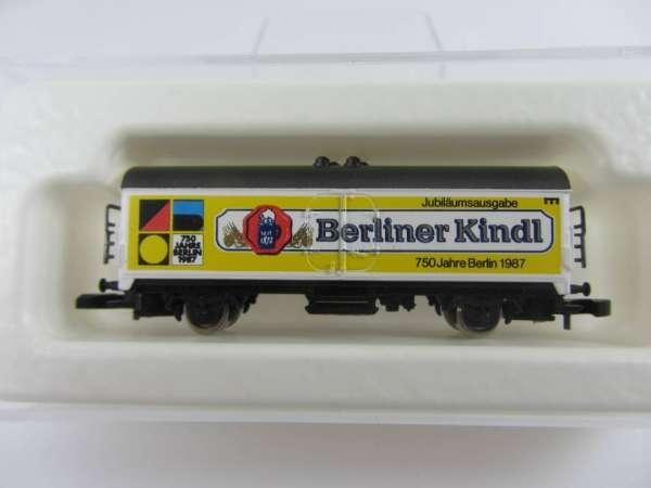 Märklin 8600 Bierwagen Berliner Kindl 750 Jahre Berlin mit Originalverpackung