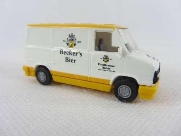 Busch 1:87 Peugeot J 5 Becker Bier
