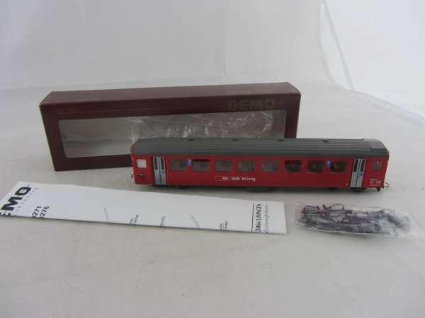 Bemo 3271 431 Personenwagen B301-2 der SBB rot, 2.Klasse, Neu-Zustand mit OVP