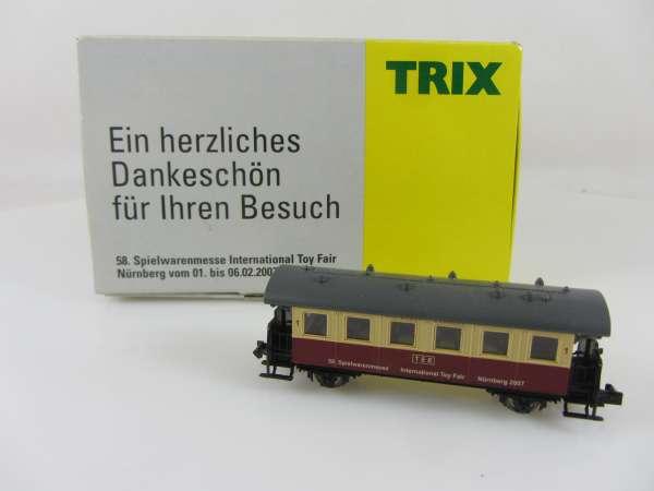 Trix TEE-2-achser Personenwagen, Spielwarenmesse 2007,OVP,M1:160