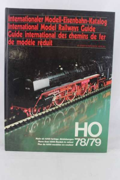 "Eisenbahnbuch ""Internationaler Modell-Eisenbahn-Katalog"" 1978/79"