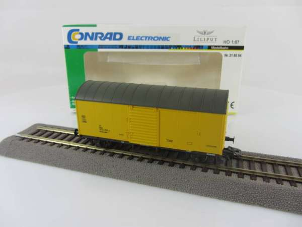Liliput 218554 Gerätewagen der DB gelb Ep. V, sehr guter Zustand mit OVP