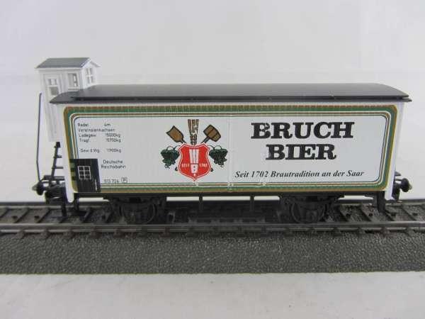 Basis 4680 Bierwagen Bruch Bier Saarbrücken, Sondermodell, neuwertig mit Verpackung