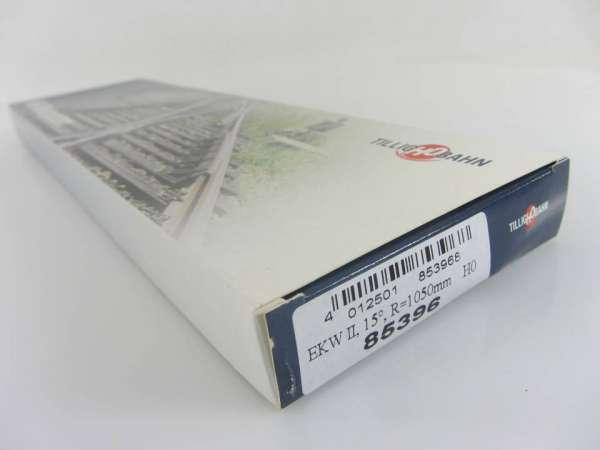 TILLIG HO 85396 EKW2 15° R 1050mm, neuwertiger Zustand mit OVP