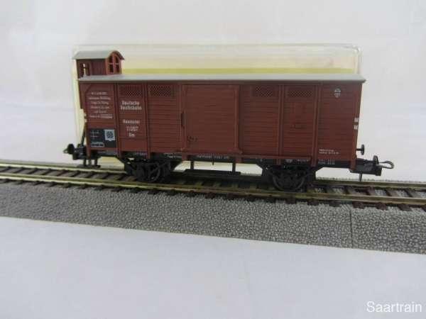 Trix 52 3623 00 Güterwagen G10 der DR Hannover in braun Neu und mit OVP.