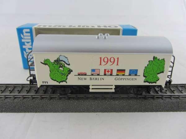 Märklin Basis 4415 Werbewagen Märklin CLUB USA New Berlin Sondermodell mit OVP