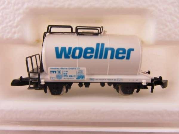 Märklin 8612 Kesselwagen 2-achsig Woellner mit Originalverpackung