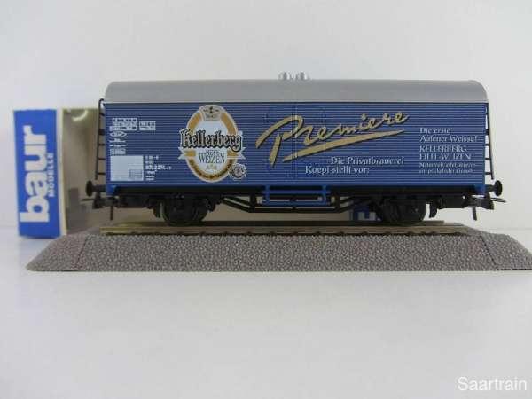 Baur Nr. 201 HO Bierwagen Kellerberg Premium blau Neu mit Originalverpackung