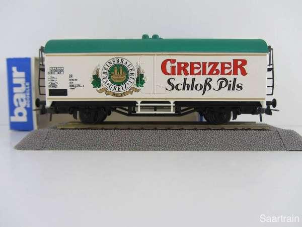 Baur Nr. 192 HO Bierwagen Greizer Schloß Pils weiß Neu mit Originalverpackung