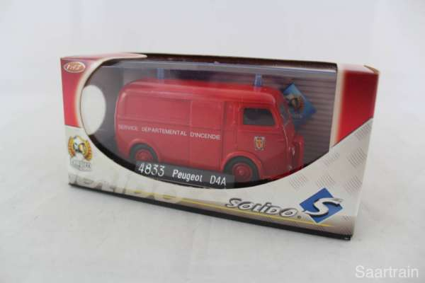 1:43 Solido 4833 Peugeot D4A Feuerwehr