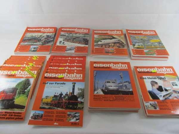 Eisenbahn Magazin (54 Hefte) von 1987-2012 sehr guter Zustand