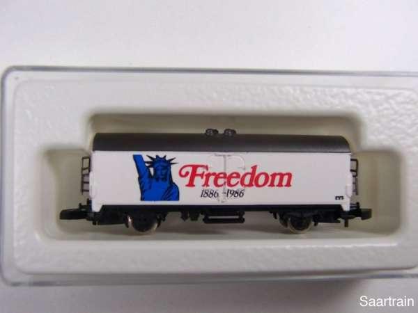 Märklin 8600 Kühlwagen Sondermodell Freedom 1886 1986 USA mit Box