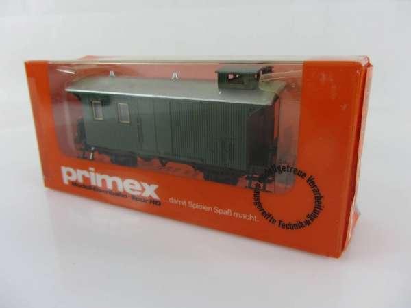 Primex 4195 Gepäckwagen grün neuwertiger Zustand mit Originalverpackung