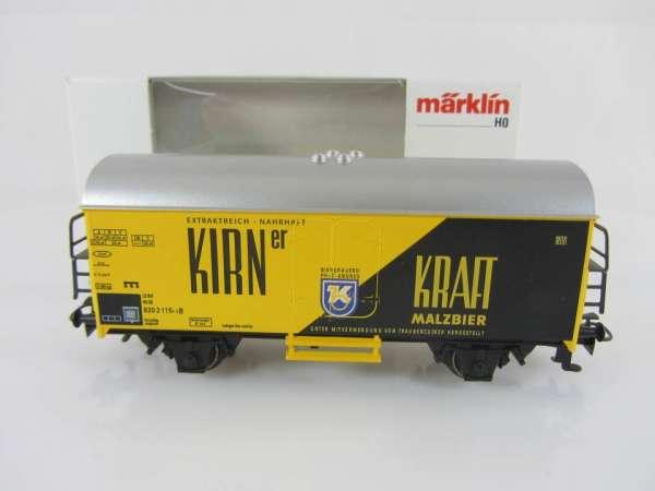 Märklin Basis 4415 Bierwagen Kirner Kraft-Malz Sondermodell mit OVP