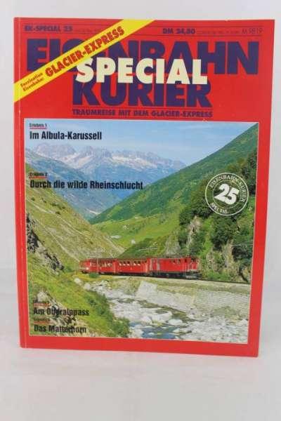 """Eisenbahn-Kurier Special 25 """"Traumreise mit dem Glacier-Express"""""""