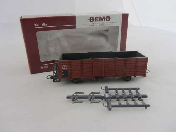 Bemo 2251 111 2-achsiger Hochbordwagen 6611 der RHB, im Neu-Zustand mit OVP