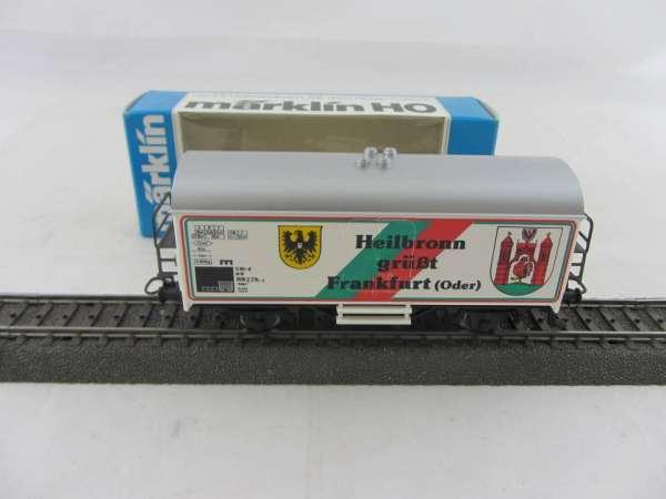 Märklin Basis 4415 Werbewagen Heilbronn grüßt Frankfurt/Oder Sondermodell, neu und mit OVP