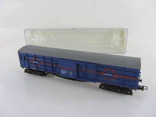 Electrotren 5104K gedeckter Güterwagen Transfesa der RENFE in blau, mit OVP