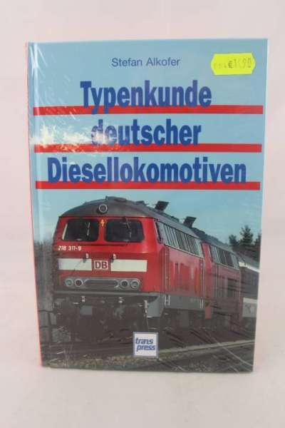 """Eisenbahnbuch """"Typenkunde deutscher Diesellokomotiven"""" Stefan Alkofer"""