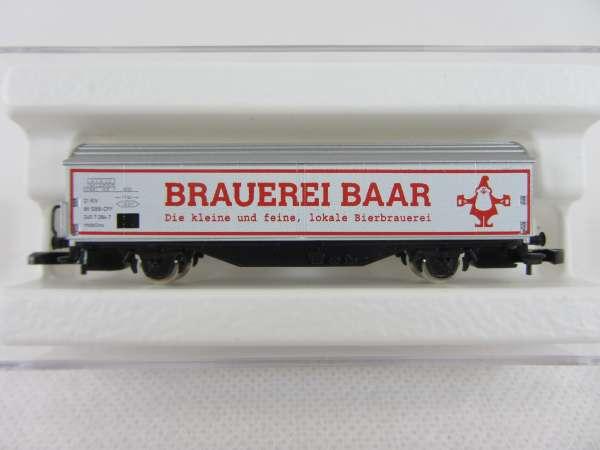 Basis 8656 Schiebewandwagen Habis Brauerei Baar Schweiz Bierwagen SBB mit OVP