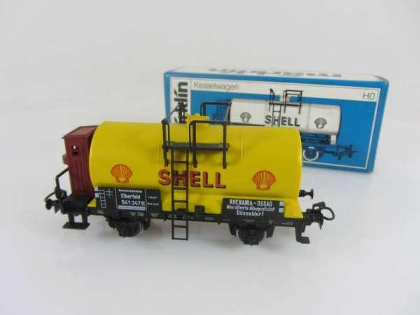 Märklin 4676 Kesselwagen SHELL der DRG gelb neuwertig mit Originalverpackung