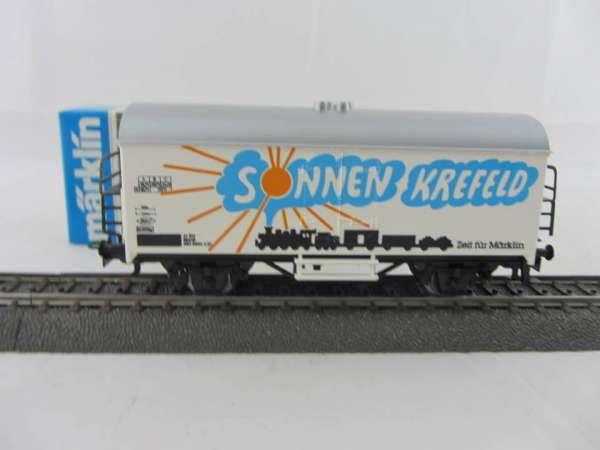 Märklin Basis 4415 Werbewagen Sonnen Krefeld Sondermodell, neu und mit OVP