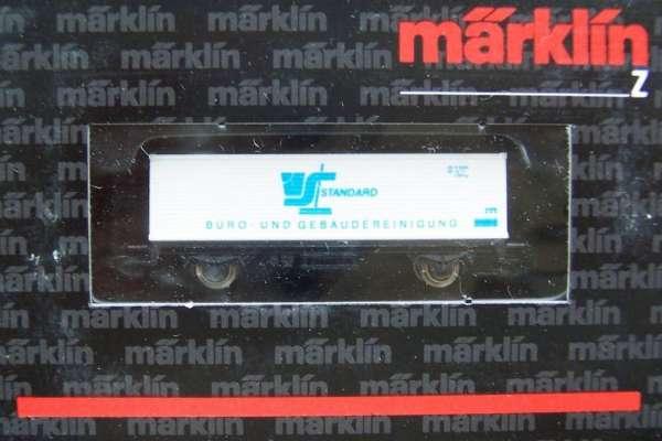 Märklin 8615 Containerwagen Standard Gebäudereinigung mit Original Verpackung