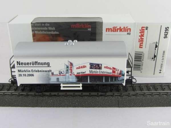 Märklin Basis 4415 Werbewagen Neueröffnung Erlebniswelt 94295 Neu mit OVP