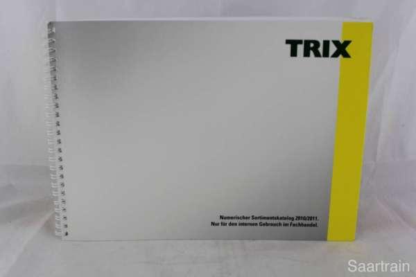 "Trix ""Sortimentskatalog für den Fachhandel 2010/11"""