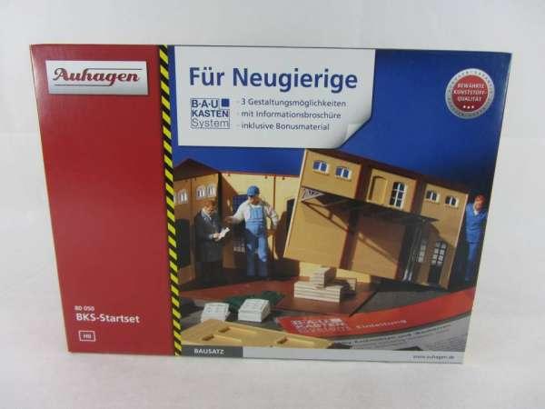 Auhagen 80050 HO-Bausatz BKS-Startset 1:87 neu und mit Verpackung