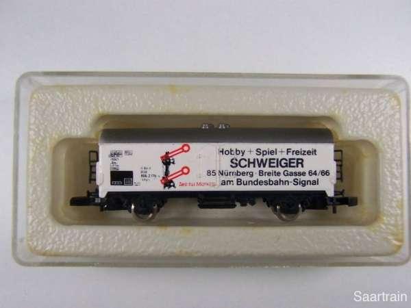 Märklin 8600 Kühlwagen Sondermodell Schweiger Nürnberg neuwertig mit Box