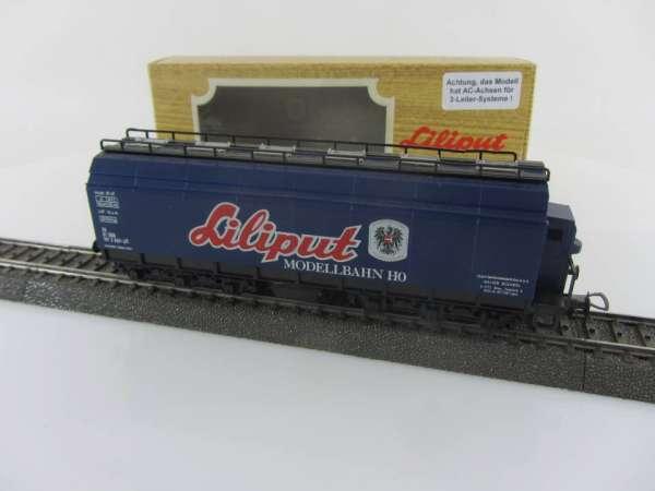 Liliput 212 00 Tonerdewagen der ÖÖB blau, sehr guter Zustand mit OVP