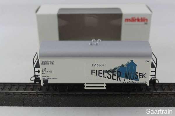 Märklin Basis 4415 Werbewagen Fielser Jhangli CFL Sondermodell Neu mit OVP