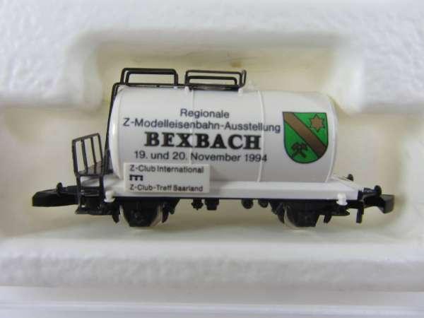 Märklin 8612 Kesselwagen 2-achsig Modellbahn Ausstellung Bexbach mit OVP