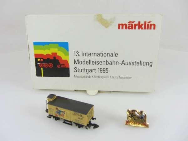 Märklin Sondermodell Messewagen G10 Basis 8661 Kessler Sekt 1995 mit OVP und Pin