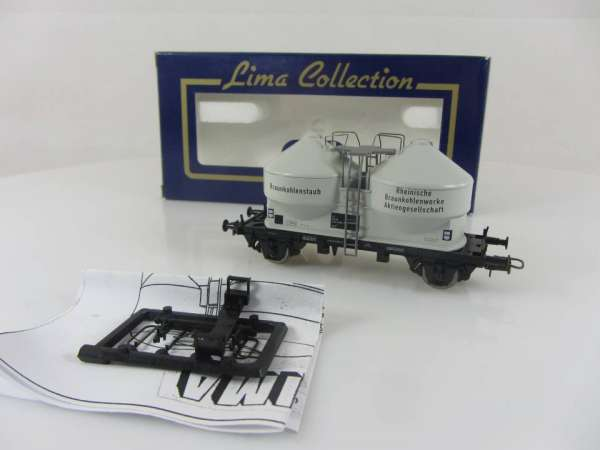 Lima L302828 Braunkohlenstaub-Silowagen der DB, neuwertig mit Verpackung