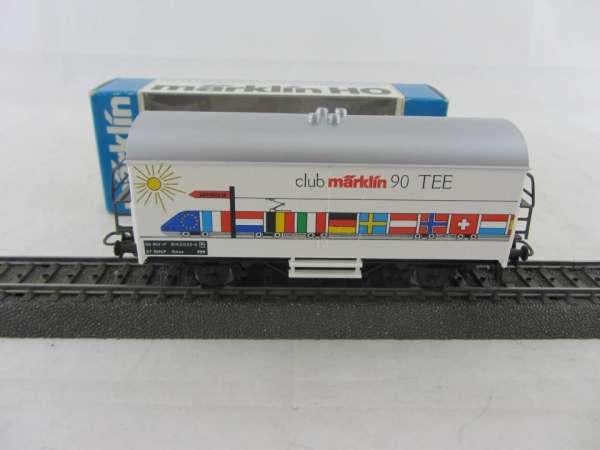 Märklin Basis 4415 Werbewagen Märklin Club 1990 TEE Sondermodell, neu und mit OVP