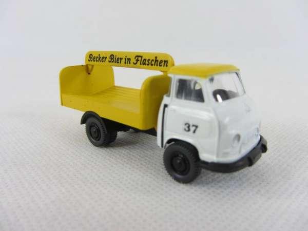 Industriedruck 1:87 Hanomag Kurier Becker Bier in Flaschen Nr. 37