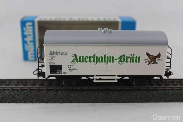 Märklin Basis 4415 Bierwagen Auerhahn-Bräu Sondermodell, neu und mit OVP